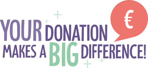 Your donation makes a big diference